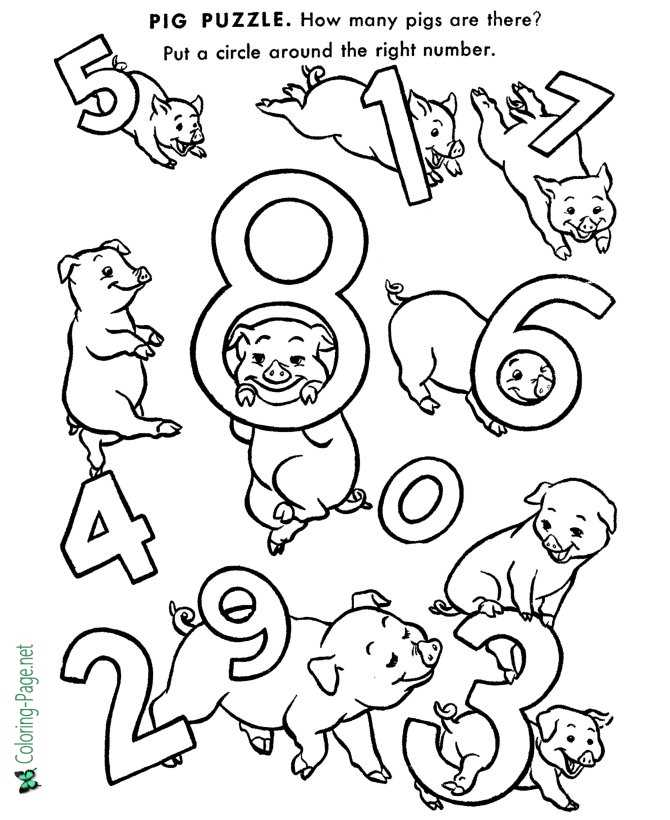 Counting kids Worksheet