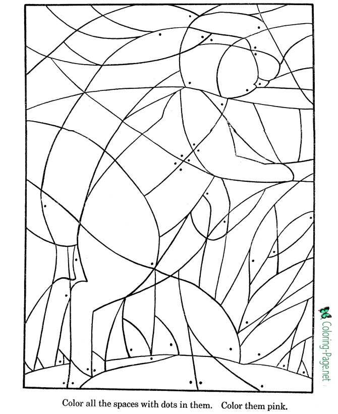 Printable Picture Puzzle Worksheet