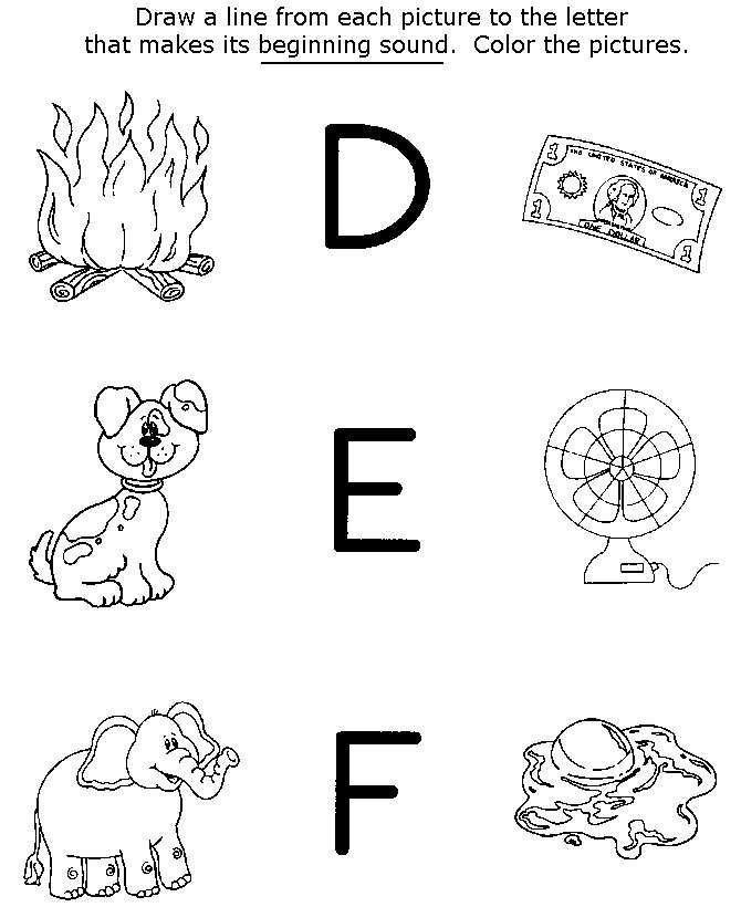 preschool coloring pages and activity - photo#4