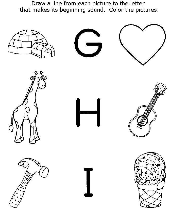 preschool coloring pages and activity - photo#17