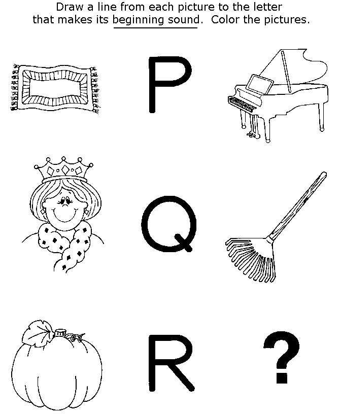 preschool coloring pages and activity - photo#40