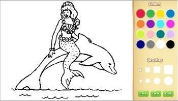 color animal coloring pages online