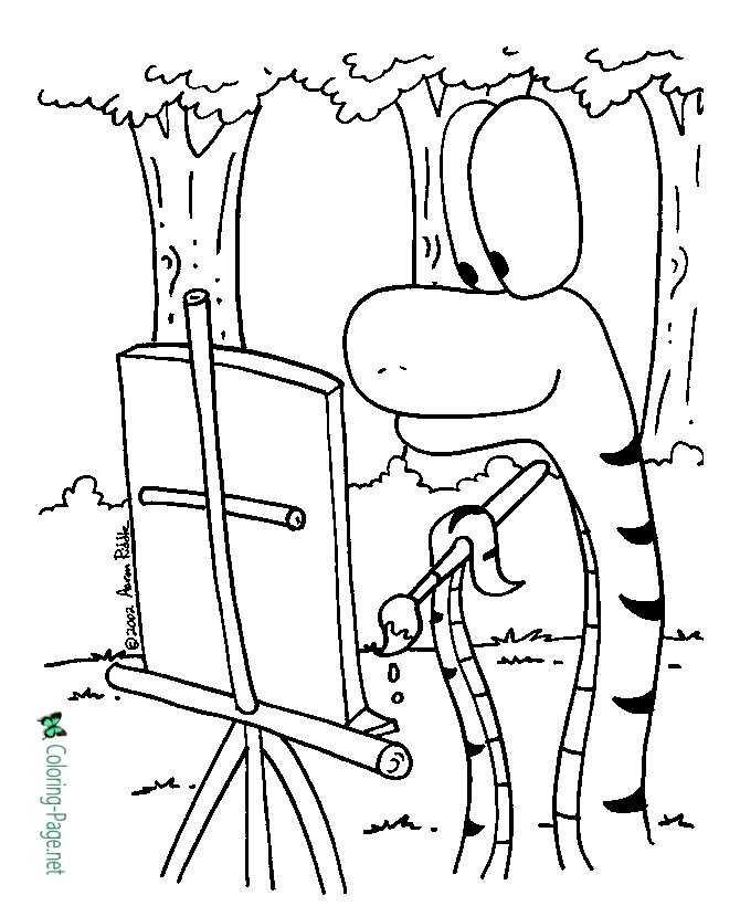 aford coloring page