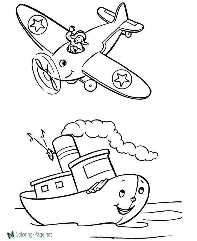 printable airplane pictures