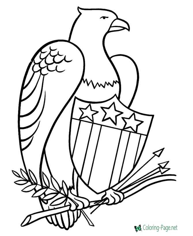 4th Of July Coloring Pages Independence Day