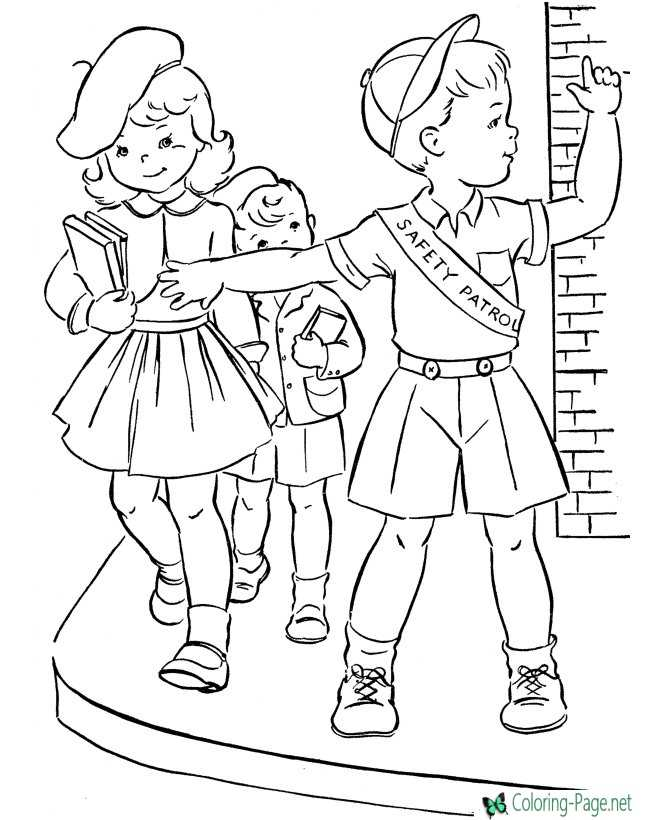 printable autumn coloring page