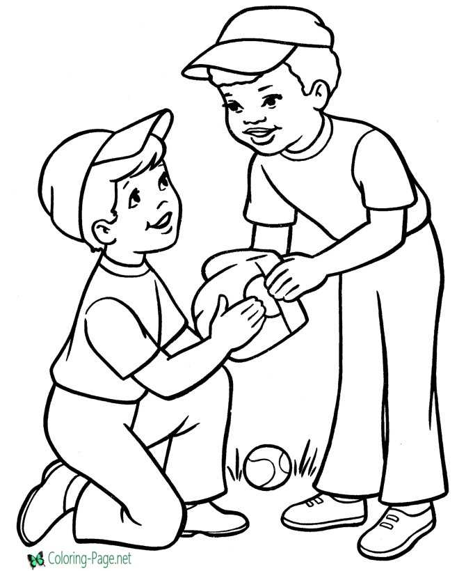 mlb coloring pages 02 ford - photo#11
