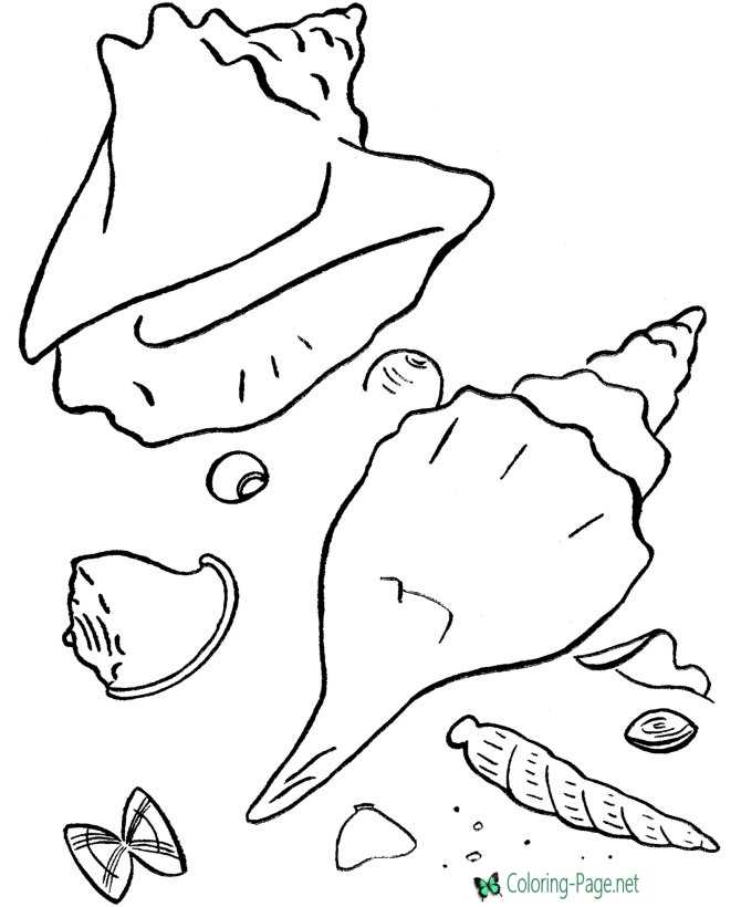free online beach coloring pages - photo#36