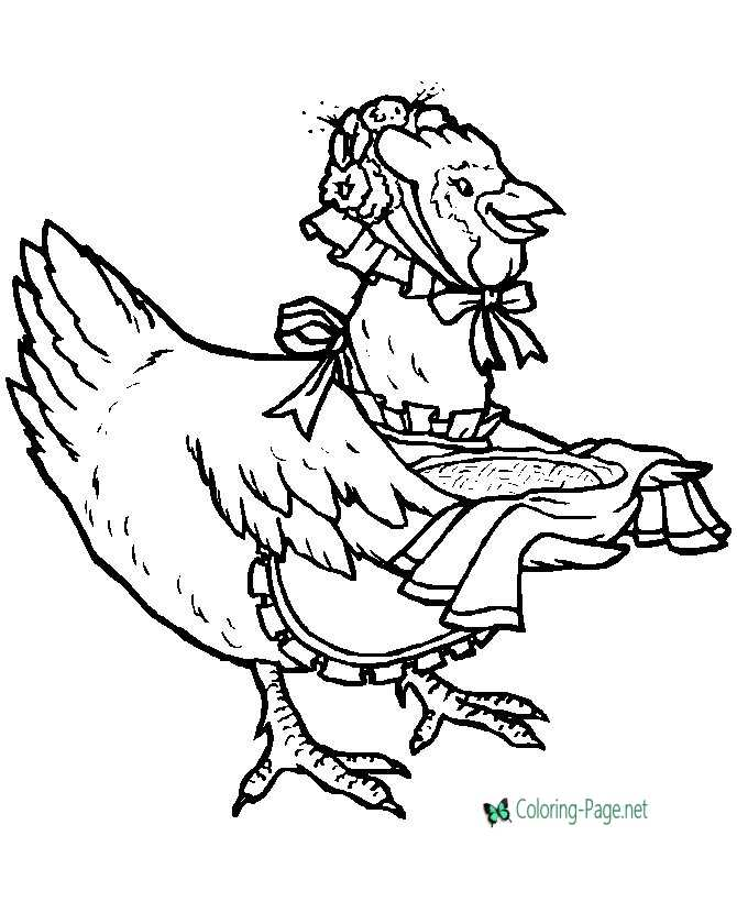 print bird coloring page