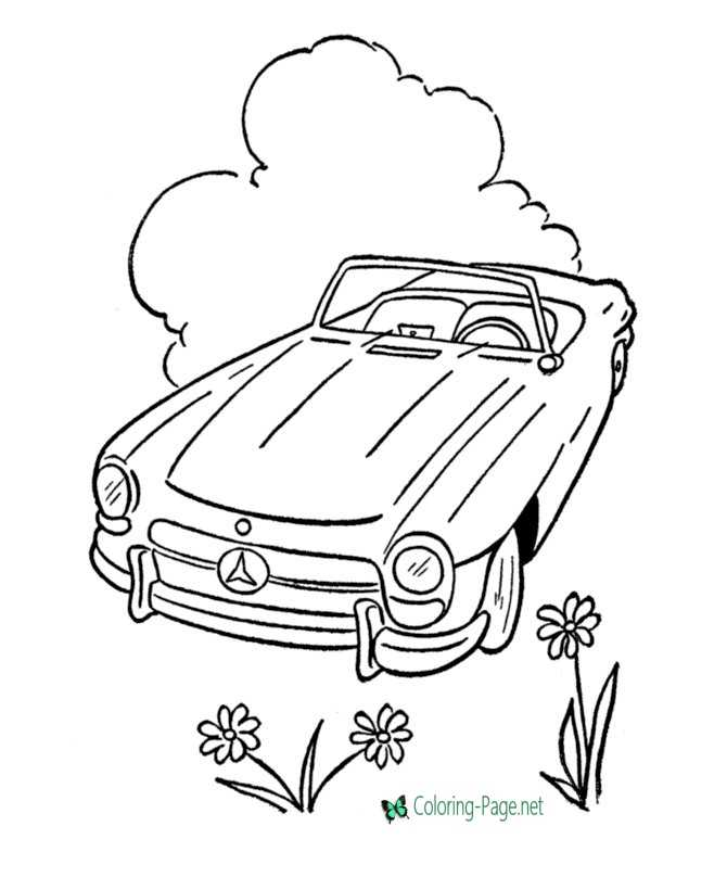 - Cars Coloring Pages