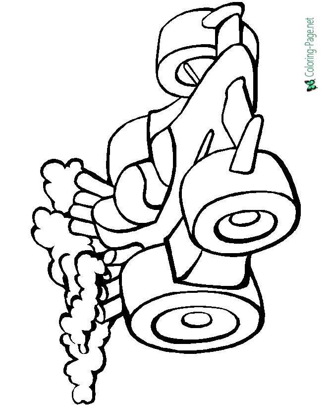 Racecar Coloring Pages