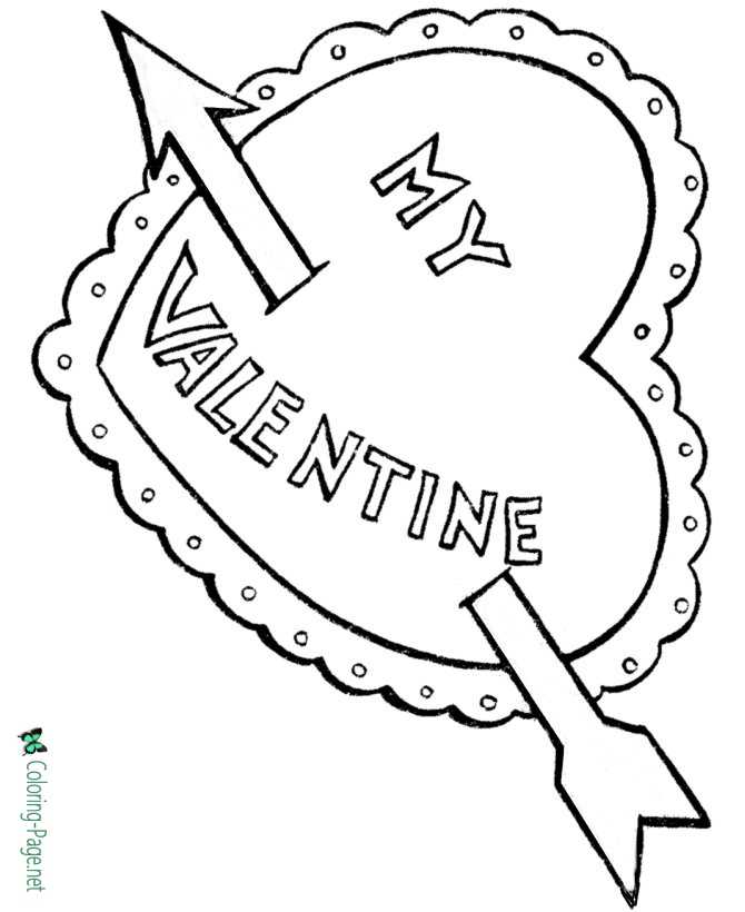 cupid coloring pages