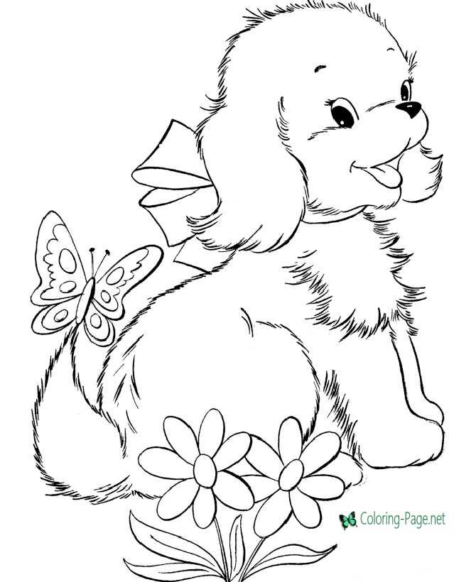 graphic regarding Printable Dog Colouring Pages identify Puppy coloring internet pages printable