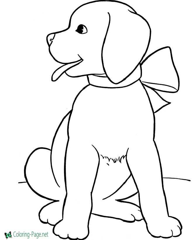picture about Dog Coloring Pages Printable titled Pet coloring web pages printable