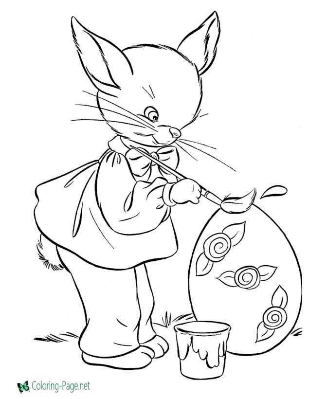 coloring pages magician with bunny - photo#18