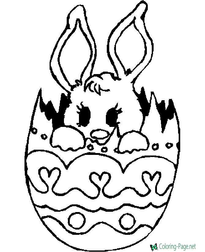 Best Easter Coloring Pages to Print