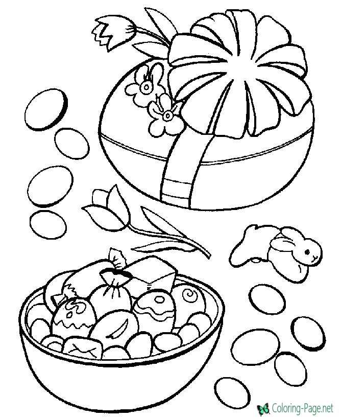 easter coloring pages - Easter Coloring Sheets