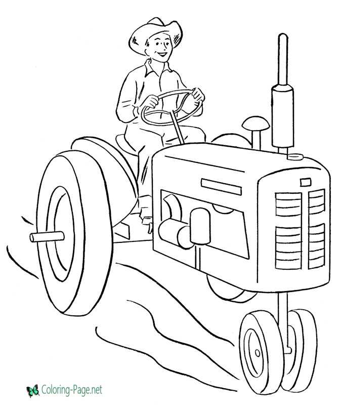 photograph relating to Printable Farm Coloring Pages identify Printable Farm Coloring Webpages