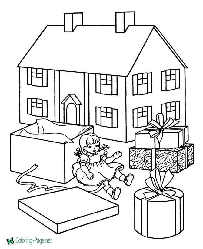 Doll House Coloring Pagesrhcoloringpage: Coloring Pages Doll House At Baymontmadison.com