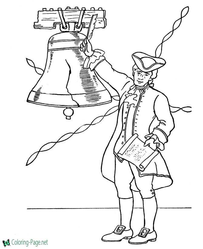 coloring page net - july 4th independence day coloring pages