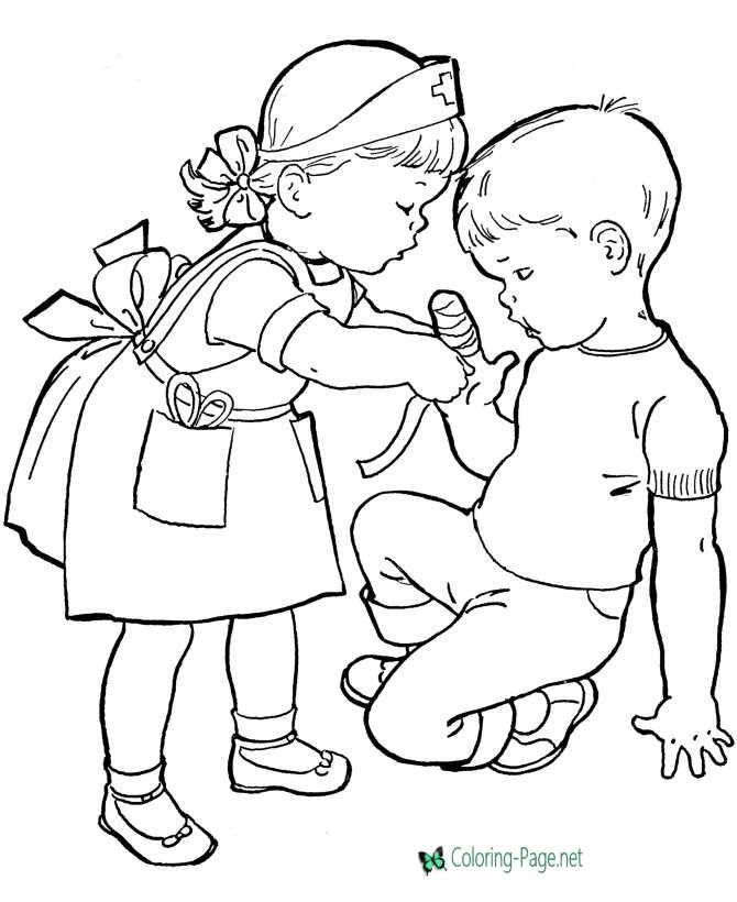 - Printable Kids Coloring Pages