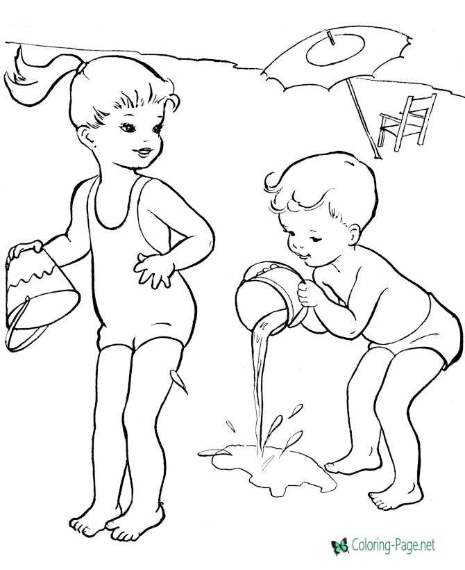 Free Coloring pages for kids (Online and Printables) Activities on ... | 820x670