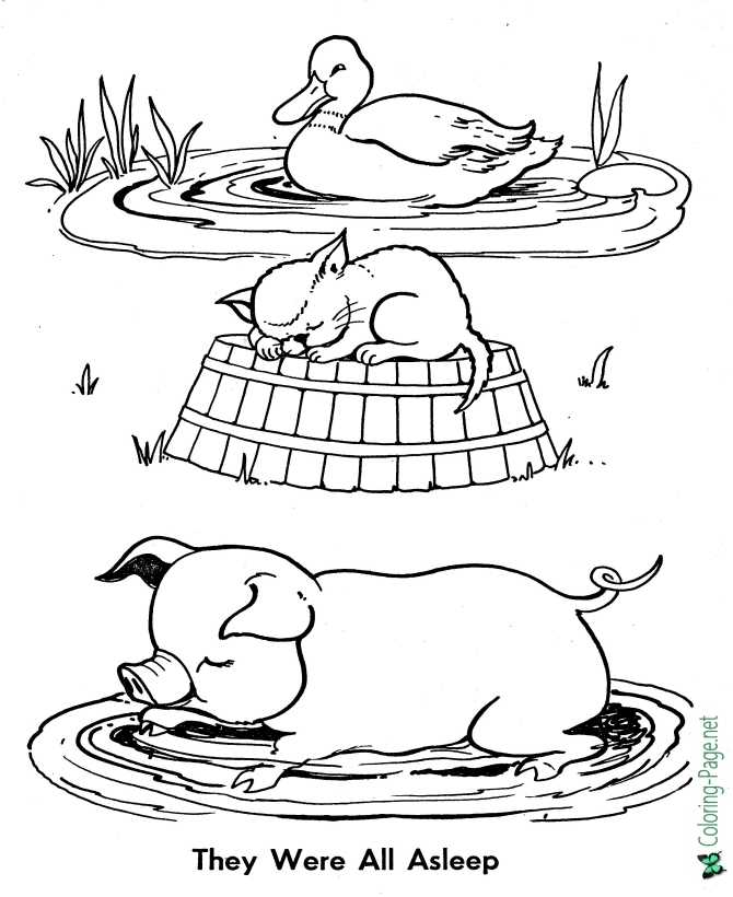 Little Red Hen coloring pages | Free Coloring Pages | 820x670