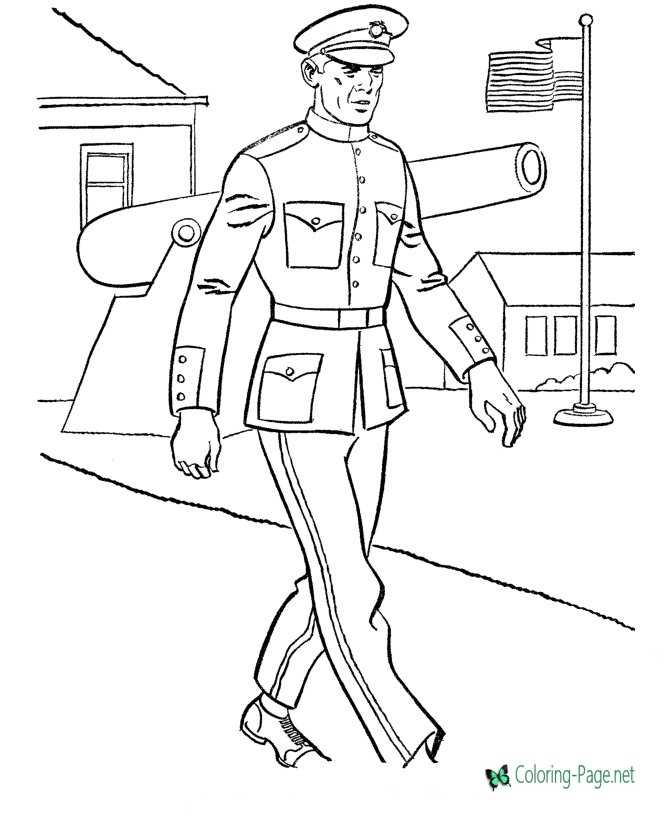 Military Coloring Pages Printable coloring pages for kids | 820x670