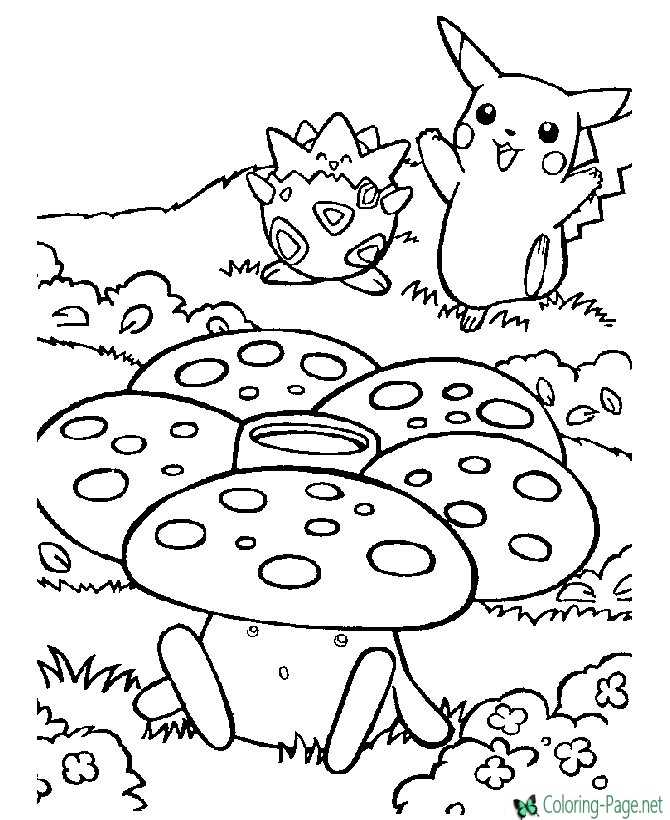 - Pokemon Coloring Pages