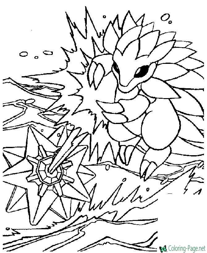 printable pokemon coloring page