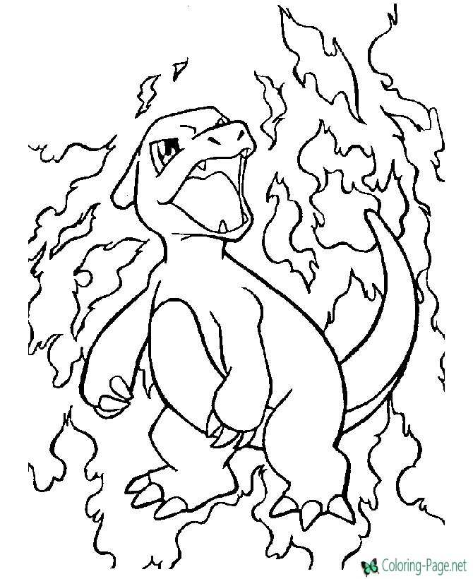 pokemon pictures to color