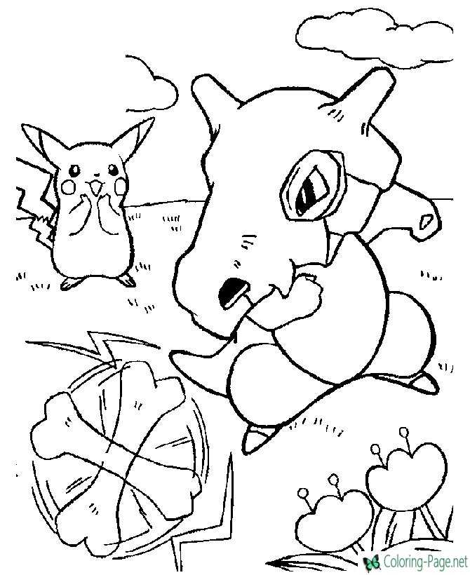 printable pokemon coloring pages