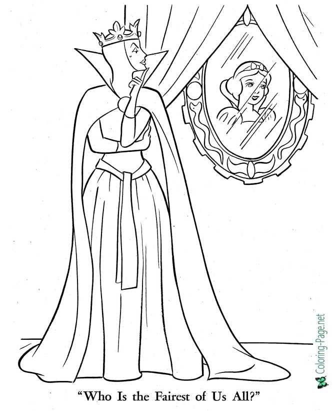 - Princess Coloring Pages