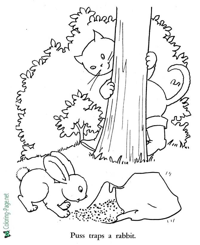 Puss in Boots coloring page | Free Printable Coloring Pages | 820x670