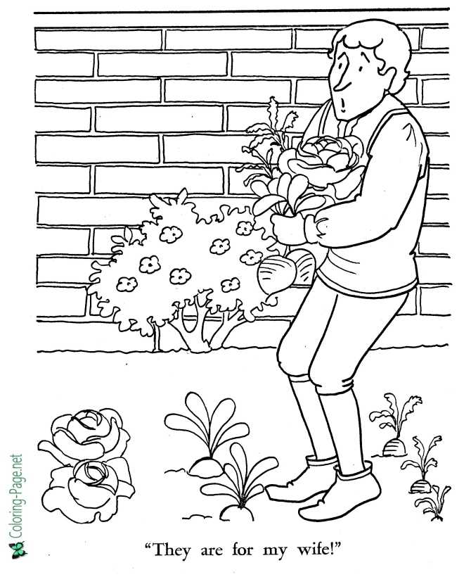 coloring page for Rapunzel