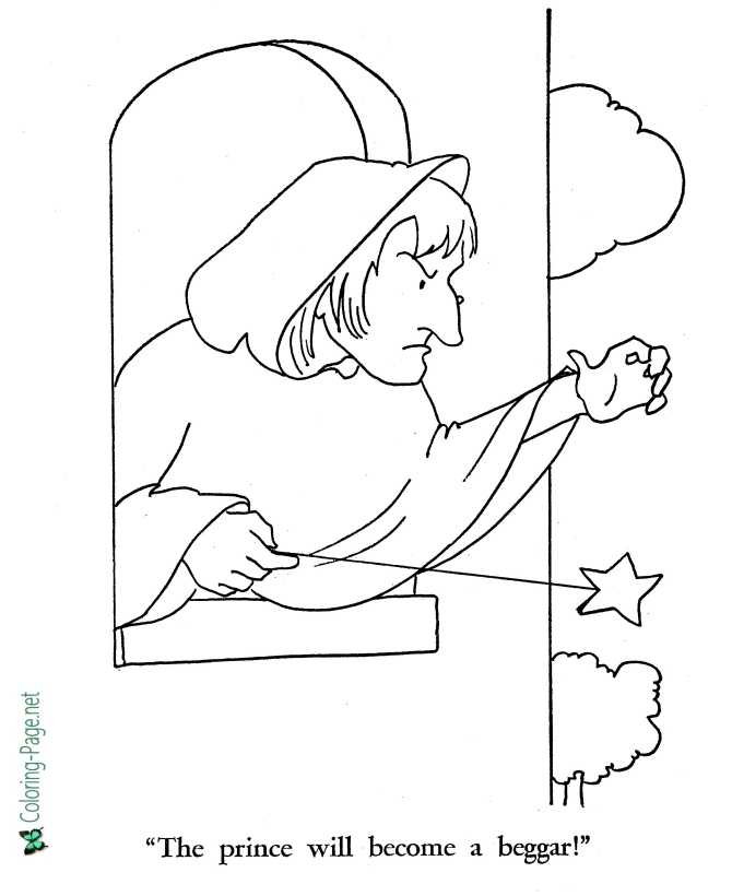 Rapunzel coloring page of world