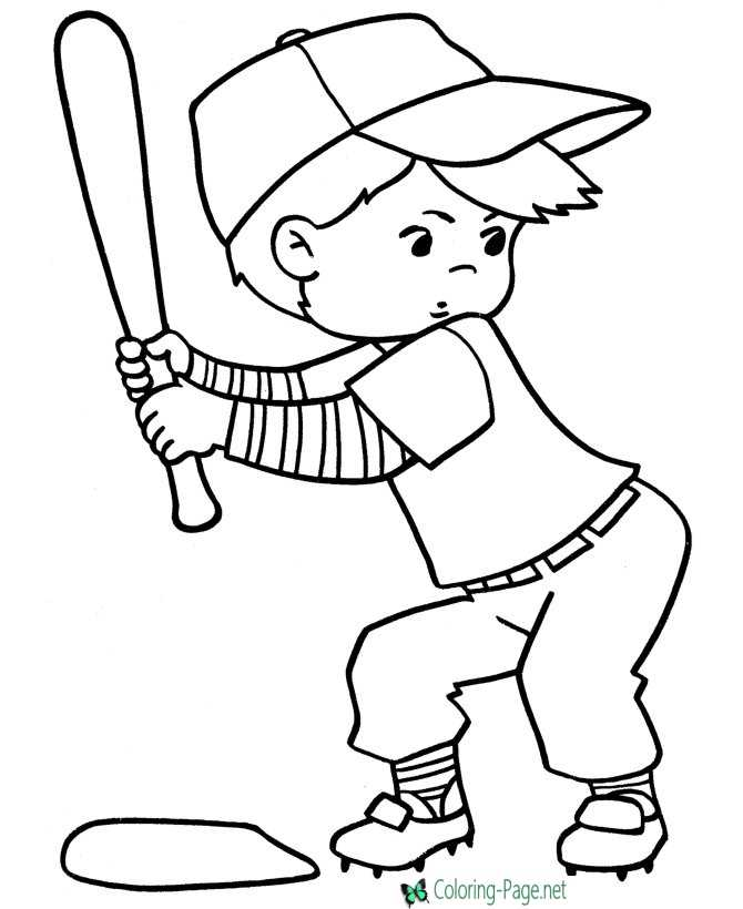 - Sports Coloring Pages