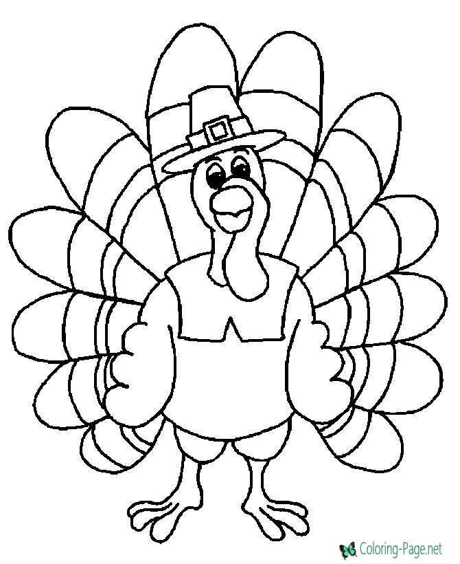Thanksgiving Coloring Pages – Thanksgiving Coloring Worksheets