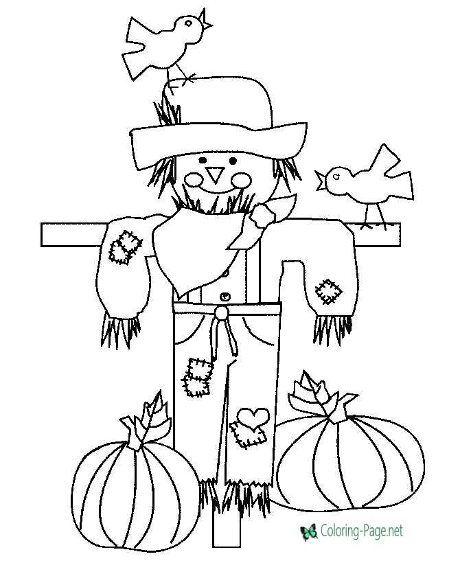 children thanksgiving coloring page
