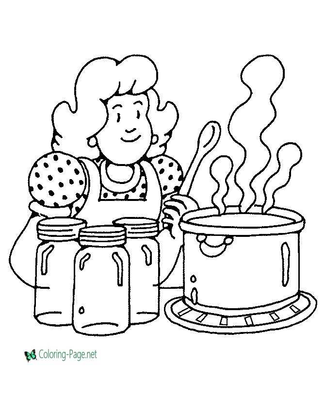 thanksgiving coloring page