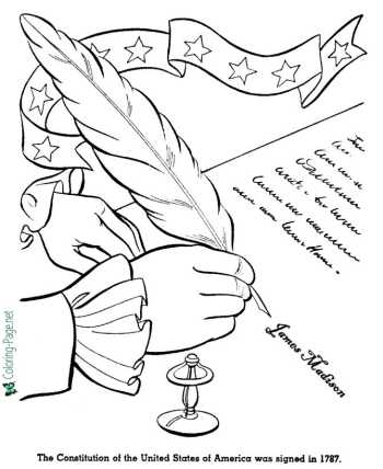 American history coloring pages