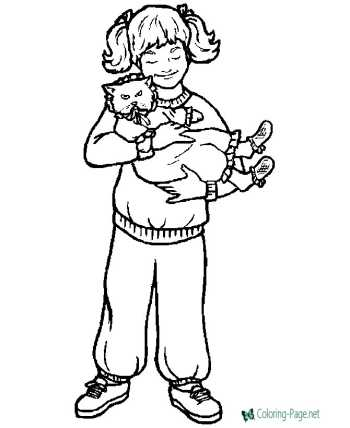 children christian coloring pages