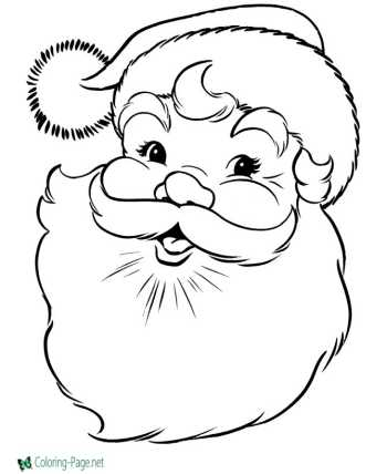 Christmas Autumn Coloring Pages