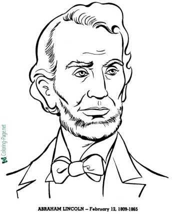 US Presidents coloring pages of America