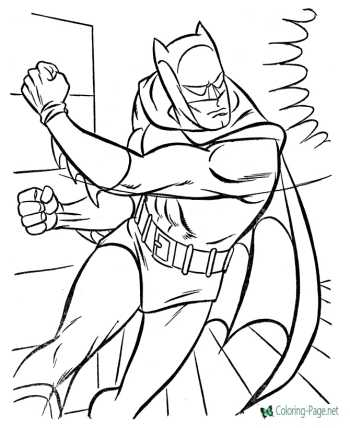 Super Heroes coloring sheets