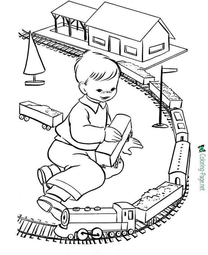 Train Coloring Pages Printable Coloring Pages For Kids