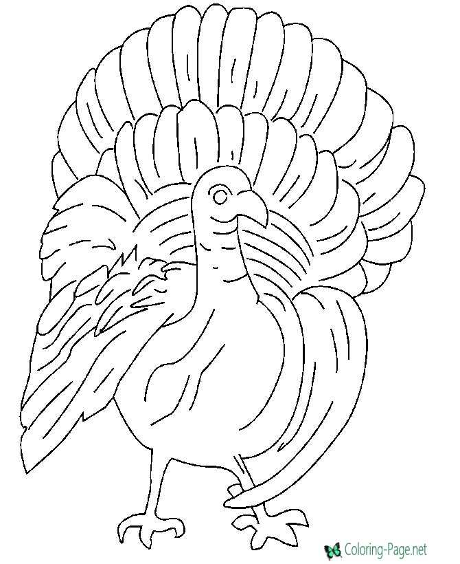 Tahnksgiving Coloring Page