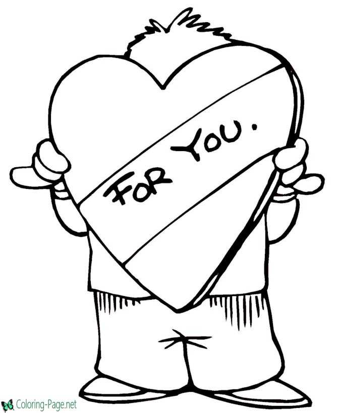 Image Result For Christmas Heart Coloring Pages