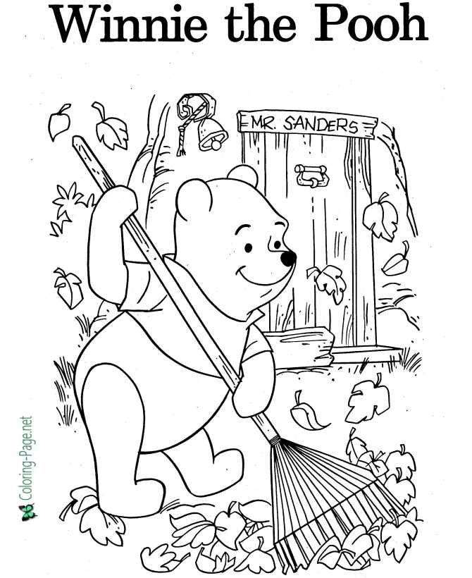 - Winnie The Pooh Coloring Pages