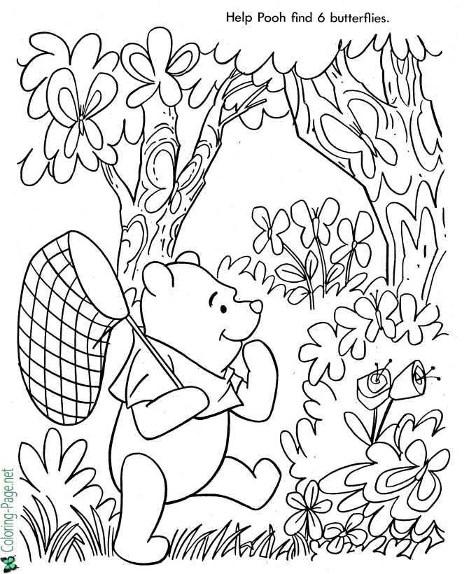 - Winnie The Pooh Coloring Pages Printable Coloring Pages For Kids